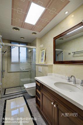 精选92平米三居卫生间欧式设计效