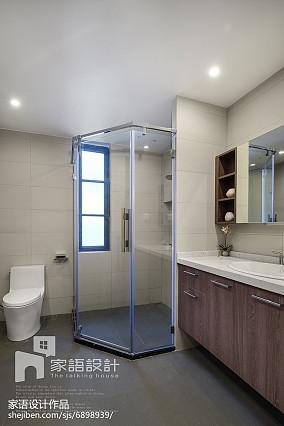 精选面积109平现代三居卫生间装修
