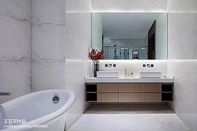 新中式别墅卫浴设计图
