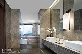 精美别墅卫生间中式装修欣赏图片