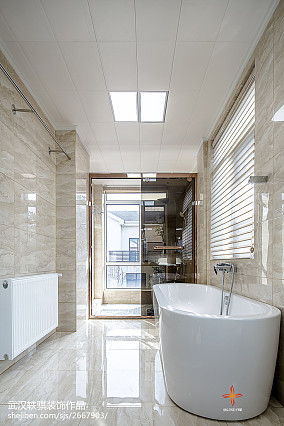 精选中式别墅卫生间装修实景图