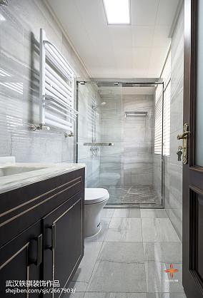 精美135平米中式别墅卫生间装修设