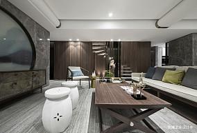 150万190㎡中式现代家装装修效果图