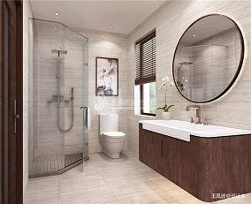 131平米新古典别墅卫生间装修效果