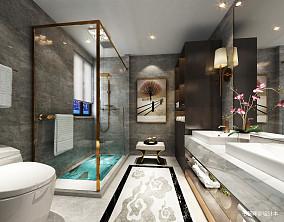 精选中式别墅卫生间装修欣赏图片