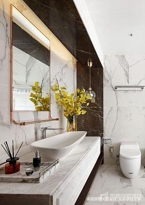 2020119平米中式别墅卫生间装修设