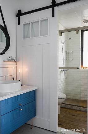 面积88平北欧二居卫生间装修设计