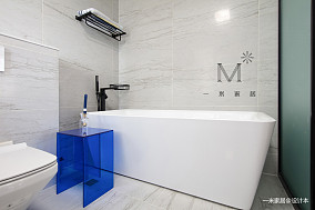 优美124平现代三居装修设计图