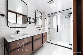 温馨94平现代三居设计案例