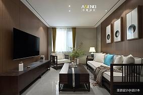 36万90㎡中式现代家装装修效果图