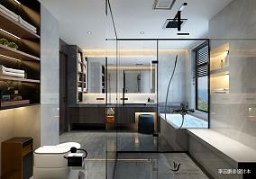 中式现代四居及以上201-500m²卫生