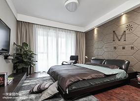 230㎡现代风卧室设计效果图