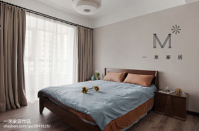 质朴87平现代三居卧室设计案例