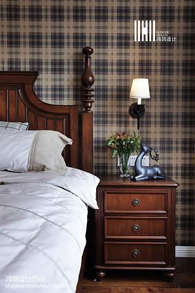 2020面积109平美式三居卧室装修效