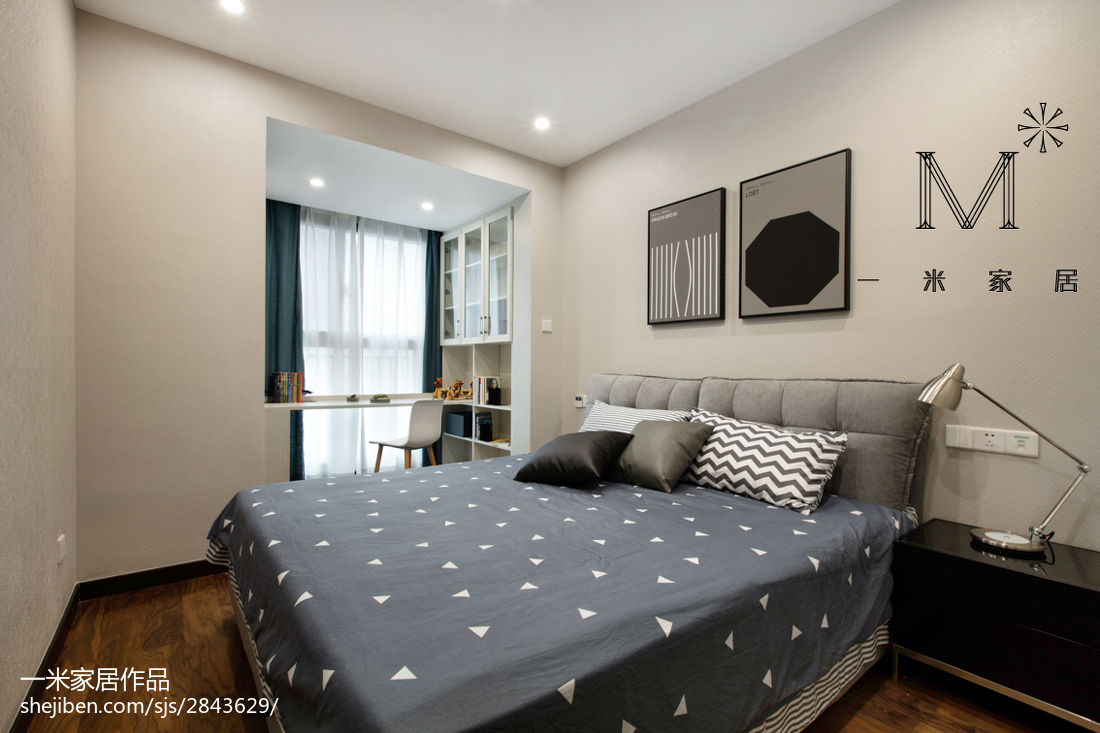 老中少不同年龄居住的卧室装修注