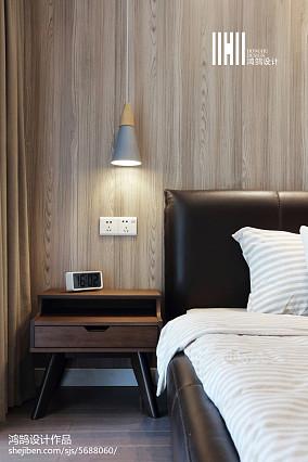精美大小80平现代二居卧室装饰图