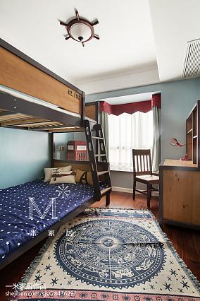 悠雅108平美式三居装修图