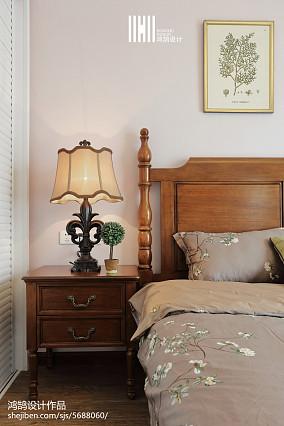 精美面积112平美式四居卧室装修实