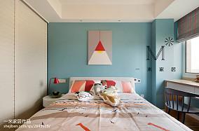 扬州十大装修公司精选大气72平现代三居儿童房实拍图