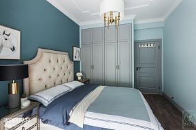 精选95平米三居卧室美式实景图片