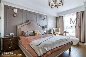 优雅77平美式三居设计案例