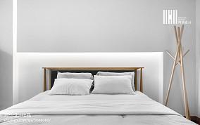 2020101平米三居卧室现代装修实景