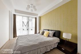 质朴130平现代三居卧室装修图片
