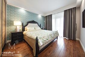 温馨105平美式三居卧室装
