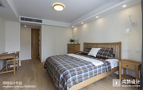 2020面积104平北欧三居卧室效果图