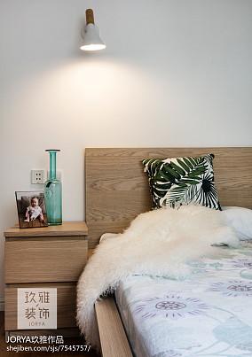 浪漫77平欧式二居卧室设计效果图