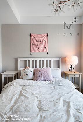 轻奢105平北欧三居儿童房设计美图