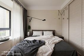 面积90平现代三居卧室装修设计效