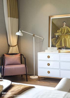 悠雅620平中式别墅卧室装饰美图