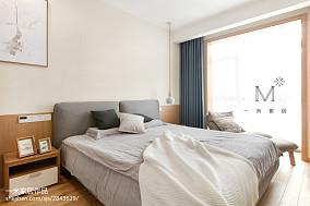 温馨78平简约二居卧室装修装饰图