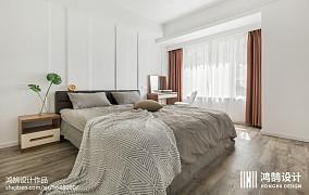 2020面积104平北欧三居卧室装修实