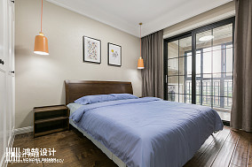 2020101平米三居卧室现代装修欣赏