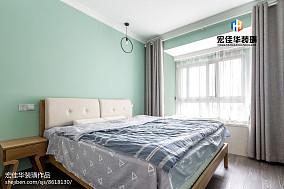 热门面积75平现代二居卧室装修图