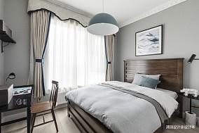 明亮122平混搭三居卧室装修设计图
