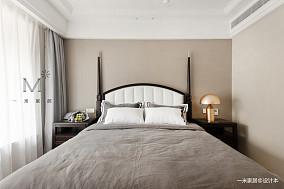 优美129平美式三居卧室设计美图