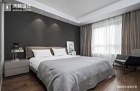 质朴119平现代三居卧室效果图片大