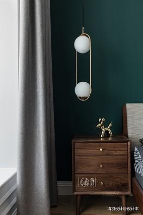 大气38平法式小户型卧室设计案例