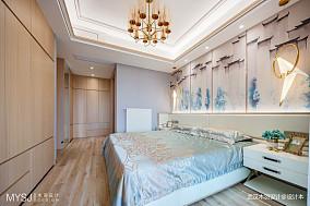 质朴90平混搭四居卧室装修案例