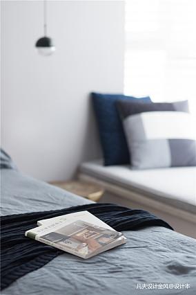 悠雅150平北欧四居卧室装修美图