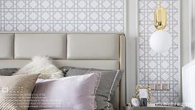 悠雅122平法式三居卧室装修图片