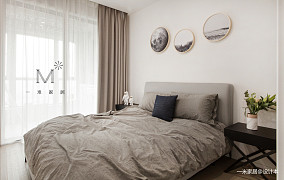 温馨76平现代二居卧室装修图片