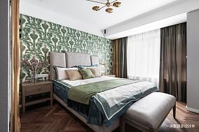 轻奢114平混搭三居卧室装饰图片