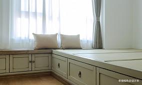 成都装修设计公司质朴120平混搭三居卧室设计图
