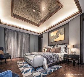 悠雅329平欧式样板间卧室效果图欣