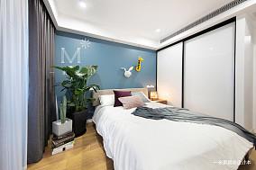 精致77平现代二居装修装饰图