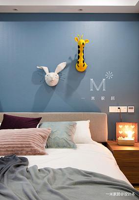 华丽65平现代二居装修装饰图